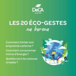 ecologie bureau
