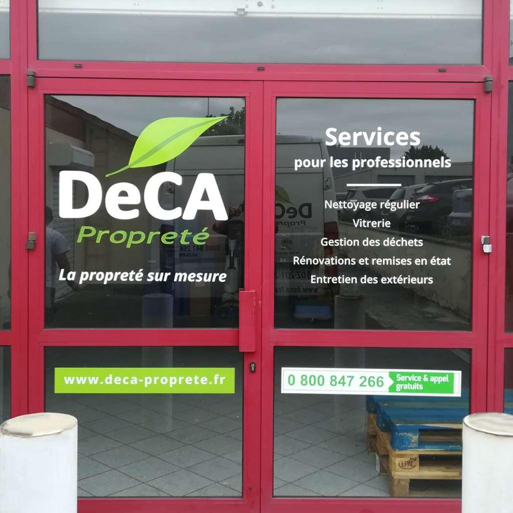 agence DeCA Propreté de Reims