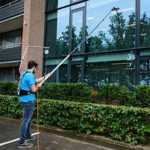 harnais pour laveurs de vitres ergonomie nettoyage en hauteur innovant