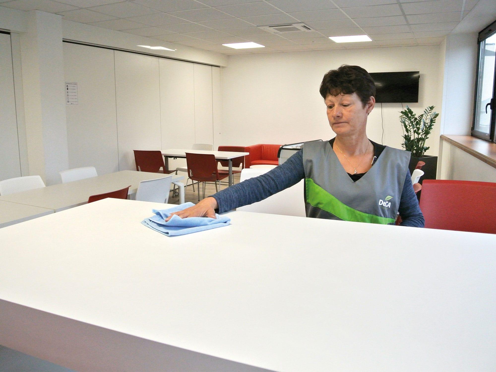 Nettoyage bureau deca propreté