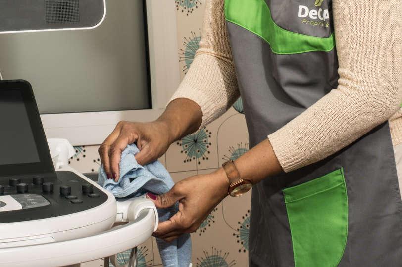 Nettoyage en milieu médical