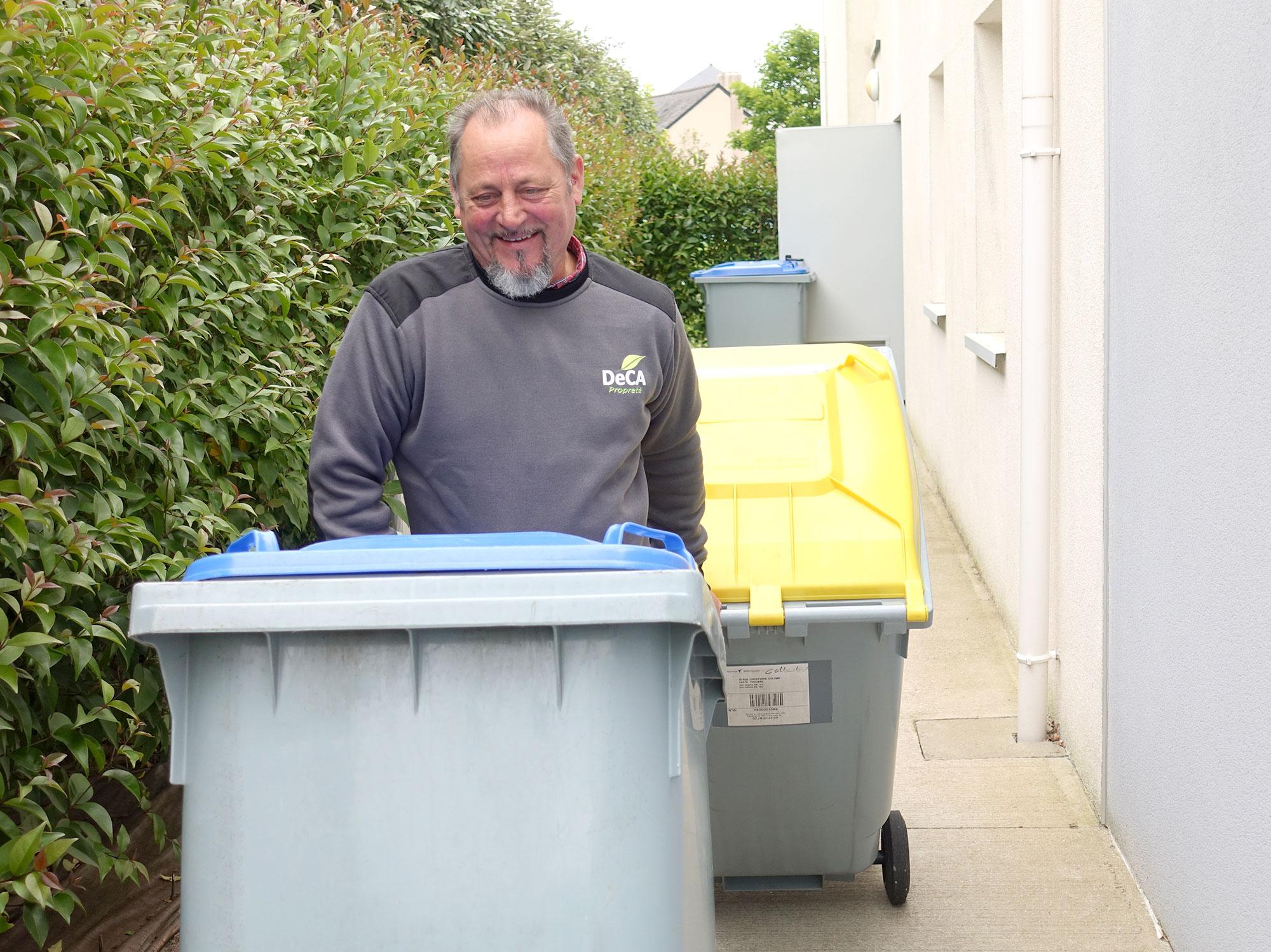 Tri et gestion des déchets entreprises parties communes propreté